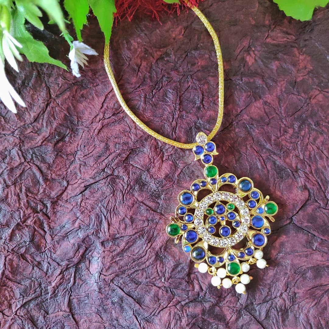 Cute Necklace From Madhura Boutique