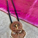 Cute Silver Necklace From Sree Exotic Silver Jewelleries