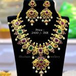 Decorative Necklace Set From Shubam And Pearls