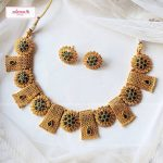 Eye Catching Necklace Set From Adorna Chennai