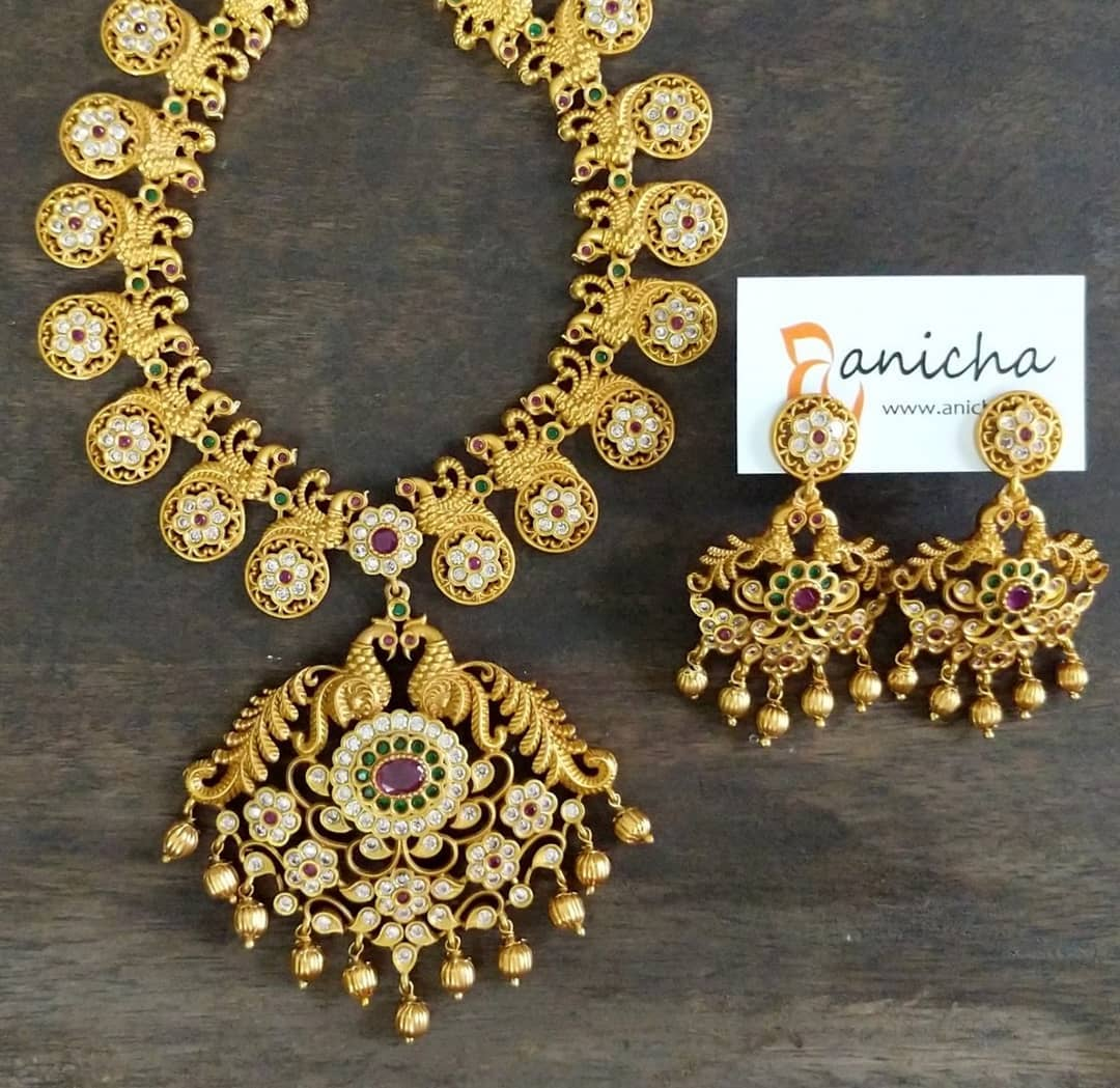 Eye Catching Necklace Set From Shop Anicha