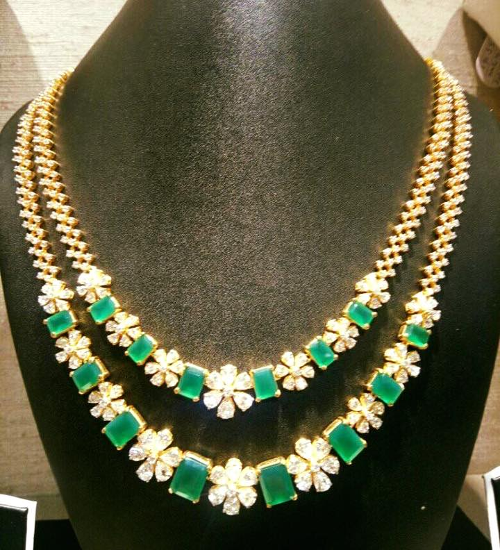 Gorgeous Gold Multilayered Necklace From Rohit Jewellers