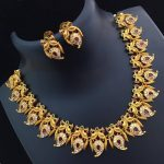 Mango Peacock Combo Necklace Set From Abhi's Jewel Hunt