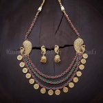 Ruby Green Layers With Antique Sparkle From Kushals Fashion Jewellery