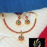 Simple Necklace Set From Vasah India