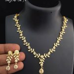 Simple Necklace Set From Abhi's Jewel Hunt
