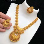 Stunning Necklace Set From Kovai Collections