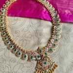 Traditional Mango Necklace From Sree Exotic Silver Jewelleries