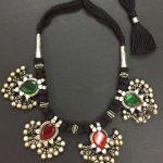 Vintage Glass Pieces In Simple Threadwork From Vasuki Kartik