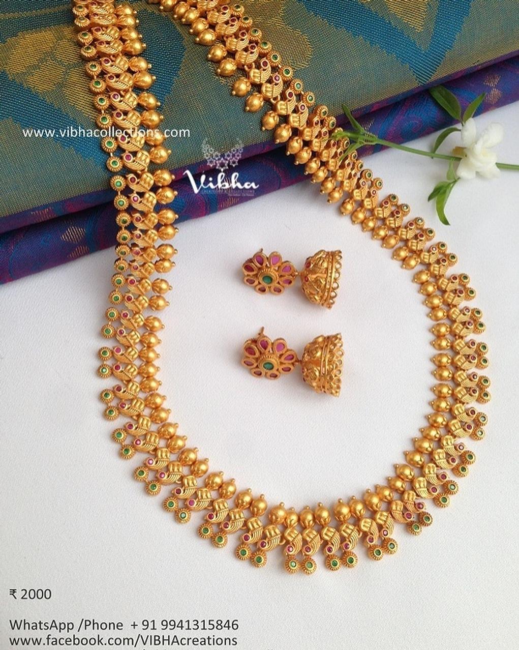 Amazing Necklace Set From Vibha Creations