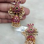 Attractive Silver Earring From Sree Exotic Silver Jewelleries