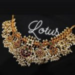 Chandbali Guttapuslu Necklace From Lotus Silver Jewellery