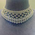 Classy Diamond Necklace From Psatyanarayansons