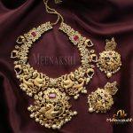 Elegance Necklace Set From Meenakshi Jewellers