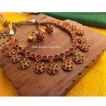 Ethnic Necklace Set From Nakshatra by Sha