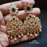 Ethnic Silver Earring From Silver Sashti