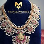 Gorgeous Temple Silver Necklace From Ms Pink Panthers