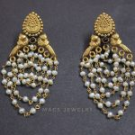 Pearl beaded earrings From Macs Jewellery