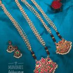 Precious Manohari Necklace From Abharanam
