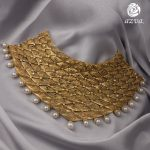 Trendy Gold Necklace Set From Azvavows