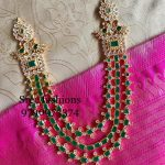 Pretty Layered Necklace From Sree Exotic Silver Jewellery
