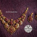 Beautiful Designer Neckpiece From Silver Cravings Jewellery