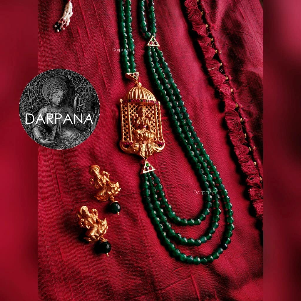 Beautiful Temple Necklace From Darpana