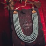 Classic Beaded Necklace From Abharanam