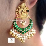 Classic Kundan chandbalis From Precious And You
