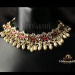 Designer Kundan Necklace From Meenakshi Jewellers