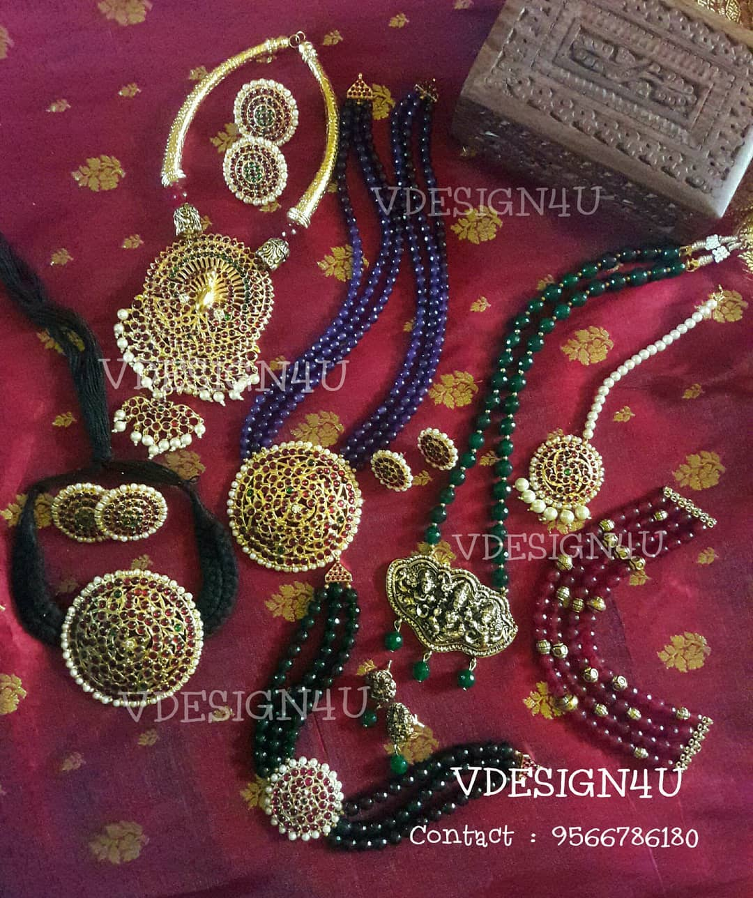 Ethnic Necklace Collections From Vdesign4u