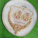 Gorgeous Uncut Multi Stone Necklace Vibha Creations