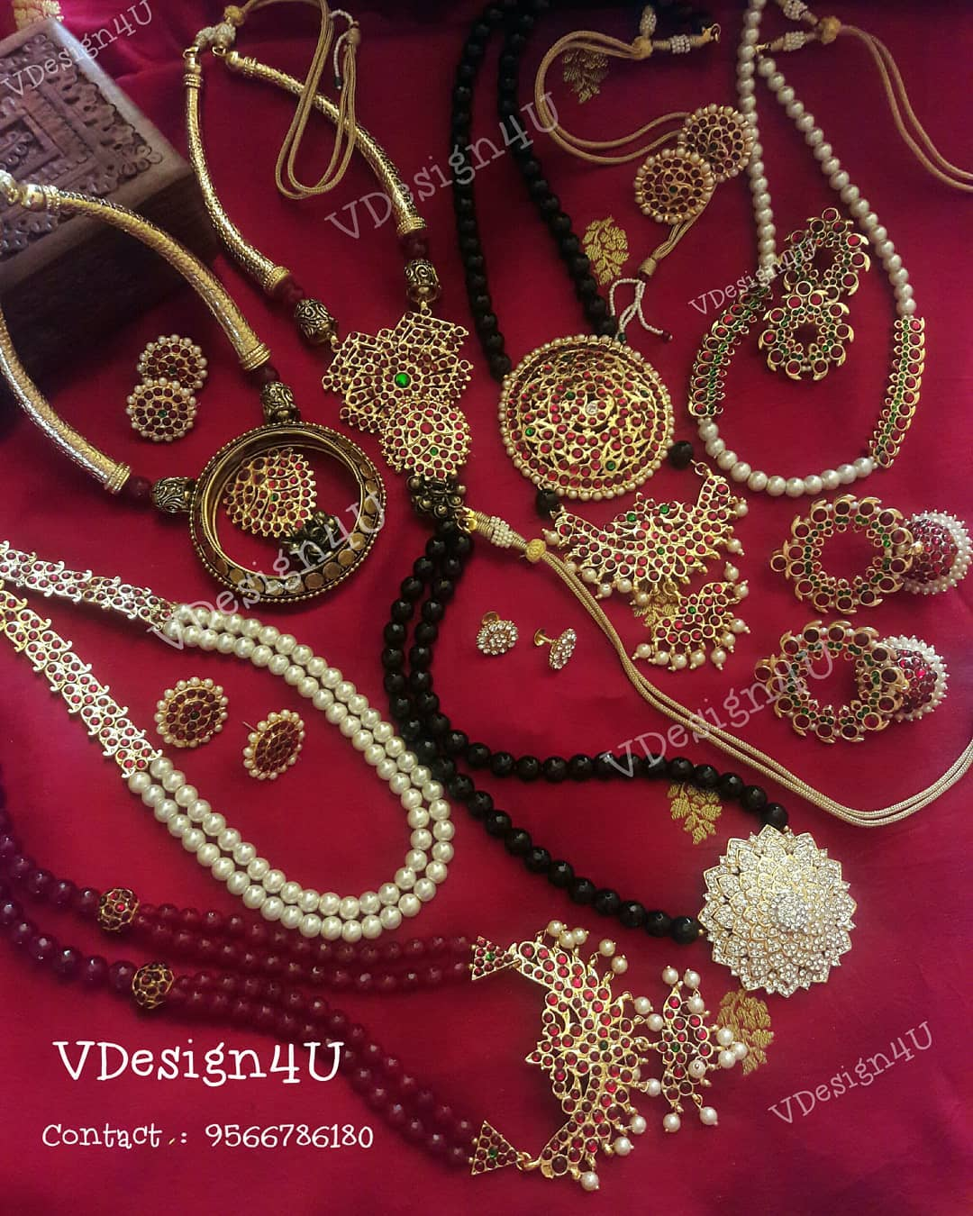 Kemp Necklace Collections From Vdesign4u