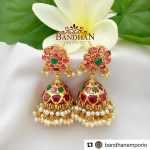 Luxury Designer Jhumka From Bandhan