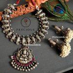 Nakshi Lakshmi And Lord Perumal necklace Set From Precious And You