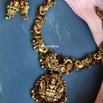 Nakshi Silver Necklace Set From Precious And You