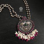 Peacock Nrityam Neckpiece From Aham Jewellery