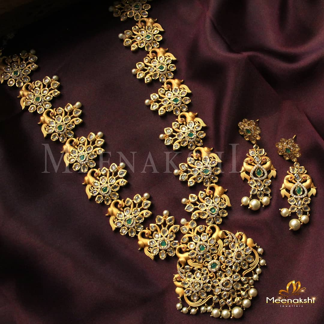 Royal And Classic haram From Meenakshi Jewellers