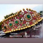 Royal Jai Kundan Choker From Lotus Silver Jewellery