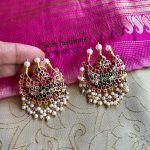 Simple Silver Earring From Sree Exotic Silver Jewelleries