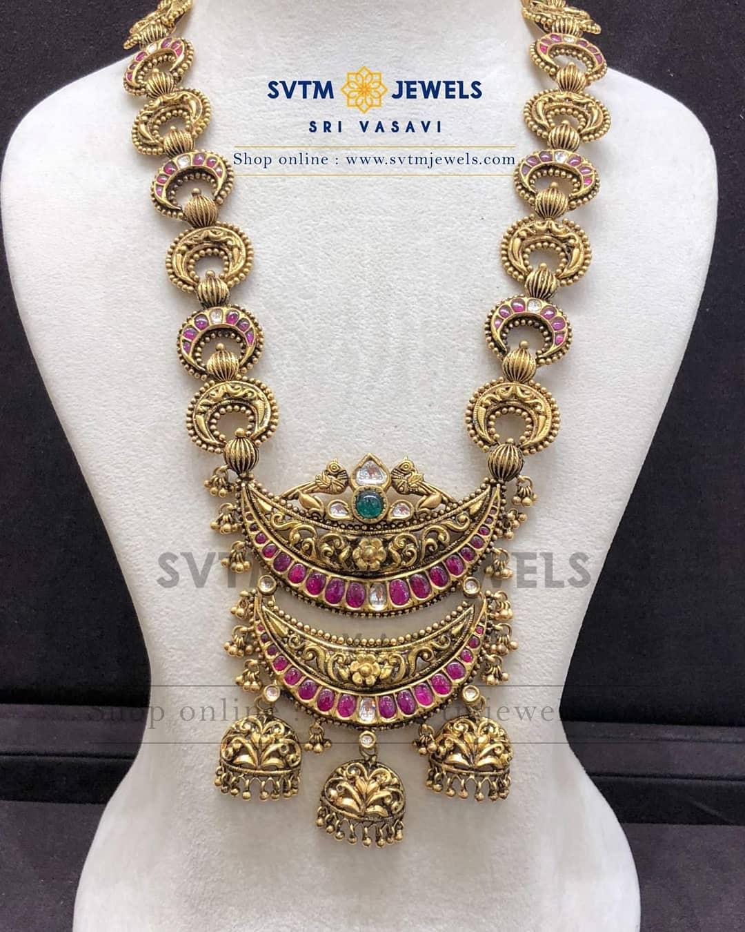 Unique Necklace Set From SVTM Jewels