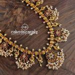 Long Guttapusalu Necklace From Nakoda Payals