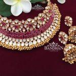 luxury designer Choker From Bandhan