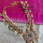 Adorable Silver Necklace From Sree Exotic Silver Jewellery