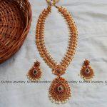 Antique Bridal Mango Haram From Kruthika Jewellery