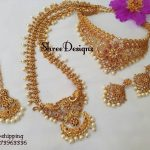 Attractive Bridal Necklace From Shree Designs