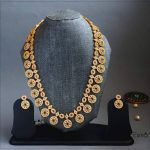Beautifully Crafted Long Haaram From Esma Jewellery