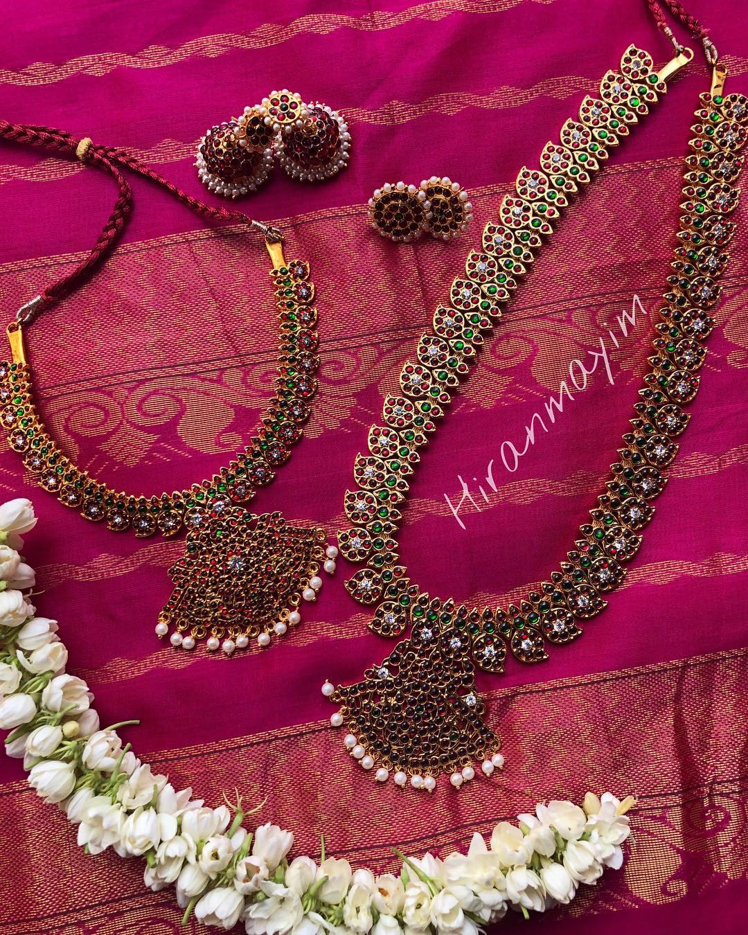 Bridal Kemp Jewellery From Hiranmayim
