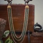 Colourful Beaded Necklace From Abharanam