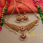 Elegant Choker From Sparkle And Glow